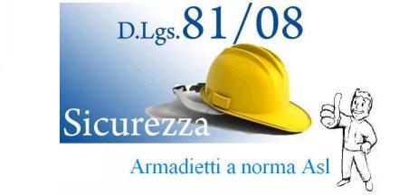 Armadi Spogliatoio Modello Sporco-Pulito A NORMA ASL