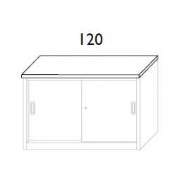 Top in nobilitato per sopralzo cm. 120x45x2h