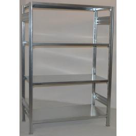 Scaffale da magazzino scaffale industriale per magazzino cm. 120x40x200h