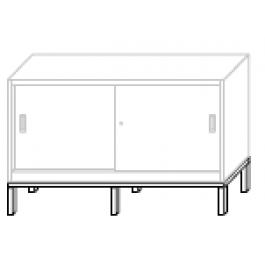 Base di rialzo per armadio metallico cm. 180x45