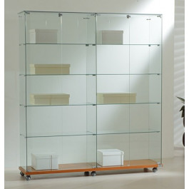 Vetrina da esposizione per negozi cm. 157x40x180h