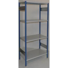 Scaffalatura metallica per magazzino verniciata cm. 80x70x180h