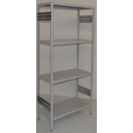 SCAFFALATURA in ferro per magazzino Verniciata cm. 80x50x200h