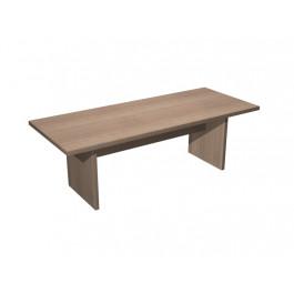 Tavolo riunione rettangolare in melaminico