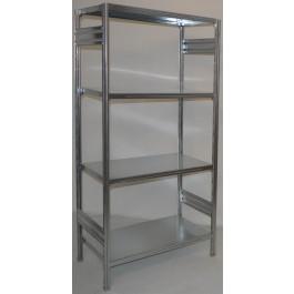Scaffalatura da magazzino scaffalatura industriale cm. 91x40x180h