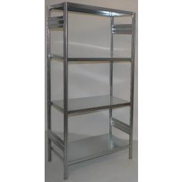 SCAFFALATURA di metallo da magazzino Zincata cm. 91x60x200h
