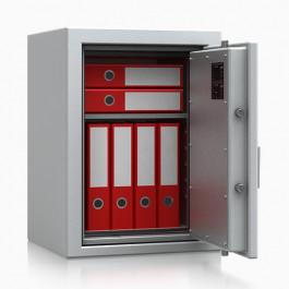 Armadio atermico ignifugo per protezione documenti CERTIFICATO 30 minuti EN 14450 S1 dimensioni cm. 49x45,5x67h