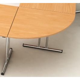 """Angolo a 90° per unione tavoli per creazione postazioni lavoro ad """"L"""""""