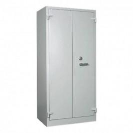 Armadio atermico ignifugo non certificato resistenza 30 minuti con serratura classe A certificata ECB-S EN 1300 dimensioni cm. 95x55x195h