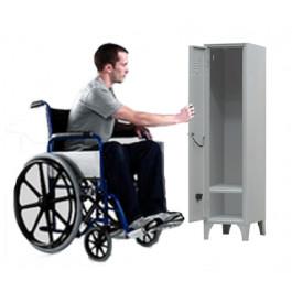 Armadio spogliatoio per disabili - Armedietto mobile per diversamente abili