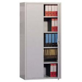 Armadio metallico per archiviazione ad ante battenti con chiusura cm. 120x45x200H