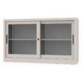 Sopralzo per armadio archiviazione a piani con ante scorrevoli in vetro cm. 120x60x88h