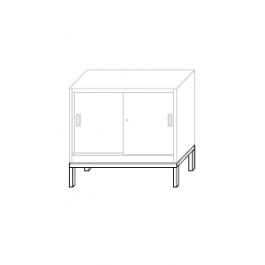 Base di rialzo per armadio metallico cm.120x45
