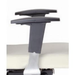 Braccioli regolabili in plastica cromati BR28cr