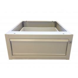 Cassetto in metallo per banco da lavoro cm. 54x62x22,4h