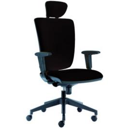 Sedia girevole regolabile in altezza con braccioli per ufficio operativo