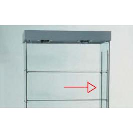 Cremagliera per regolazione ed aggiunta piani, per vetrina h90
