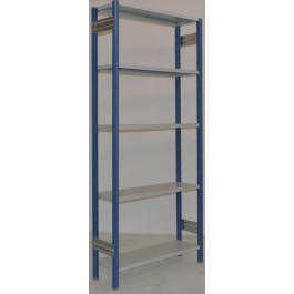 SCAFFALATURA in metallo per magazzino Verniciata cm. 80x30x250h