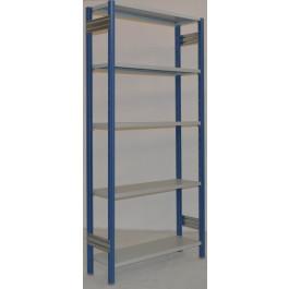 SCAFFALATURA di metallo per magazzino Verniciata cm. 91x30x242h