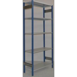 SCAFFALATURA in metallo da magazzino Verniciata cm. 80x40x242h