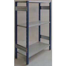 Scaffalatura da magazzino scaffalatura industriale cm. 100x40x150h