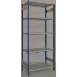 Scaffalatura metallica da magazzino Verniciata cm. 100x80x242h