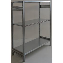 SCAFFALATURA in metallo da magazzino Zincata cm. 91x70x150h