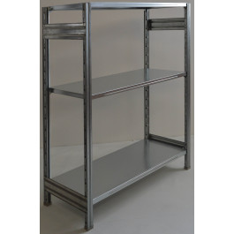 Scaffalatura da magazzino scaffalatura industriale cm. 91x70x150h