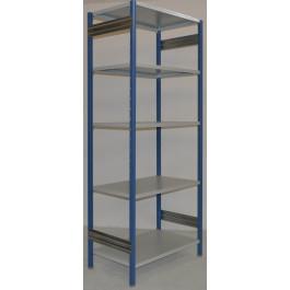 Scaffalatura in metallo da magazzino Verniciata cm. 100x60x242h