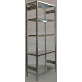 Scaffalatura metallica da magazzino Zincata cm. 100x60x242h