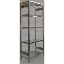 Scaffalatura da magazzino Zincata cm. 100x80x242h
