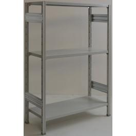 Scaffale per magazzino scaffalatura industriale cm. 120x40x150h