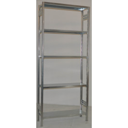 Scaffalatura da magazzino Zincata cm. 100x30x250h