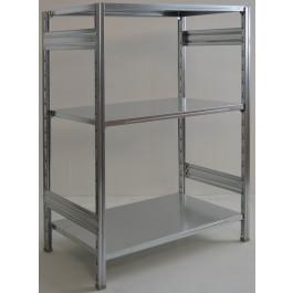 Scaffalatura scaffalatura a ripiani cm. 100x80x150h