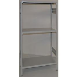 Scaffalatura industriale scaffalatura metallica cm. 80x70x150h