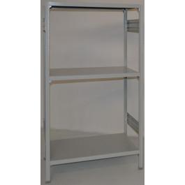 SCAFFALE metallico per magazzino Verniciata cm. 100x30x150h