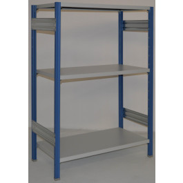 Scaffalatura metallica da magazzino Verniciata cm. 100x50x150h