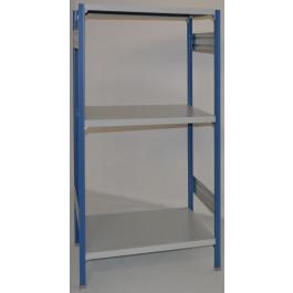 SCAFFALATURA metallica da magazzino Verniciata cm. 80x60x150h