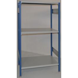 Scaffalatura ad incastro scaffalatura da magazzino cm. 91x80x150h