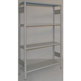 SCAFFALATURA in metallo per magazzini Verniciata cm. 91x40x150h