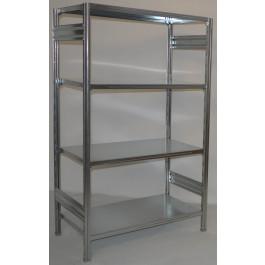 Scaffalatura in ferro per magazzino Zincata cm. 100x60x200h
