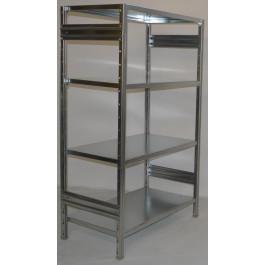 Scaffalatura da magazzino scaffalatura industriale cm. 100x50x180h