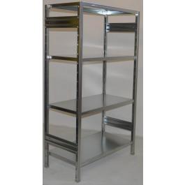 Scaffalatura industriale scaffalatura metallica cm. 120x40x180h