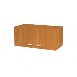 Sopralzo per armadio con ante battenti senza serratura in melaminico cm. 90x45,8x40h