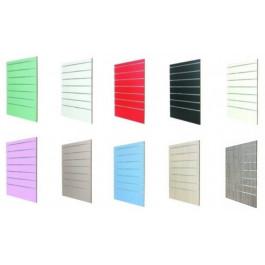 Pannello dogato a muro senza accessori cm. 90x124h vari colori a scelta