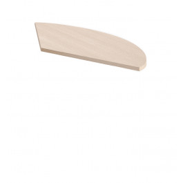 Allungo laterale per scrivania direzionale cm. 145x67