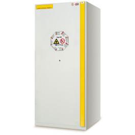 Armadio di sicurezza ad 1 porta per prodotti liquidi e solidi infiammabili cm. 90x60x195h