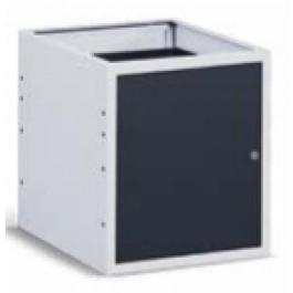 Cassettiera metallica per banco da officina con 1 anta cm. 50x60,7x57h
