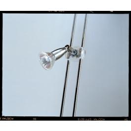 Illuminazione LED verticale con faretti per SINGOLO lato per 3 piani