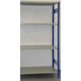 MODULO AGGIUNTIVO scaffali di metallo da magazzino Verniciata cm. 100x30x200h